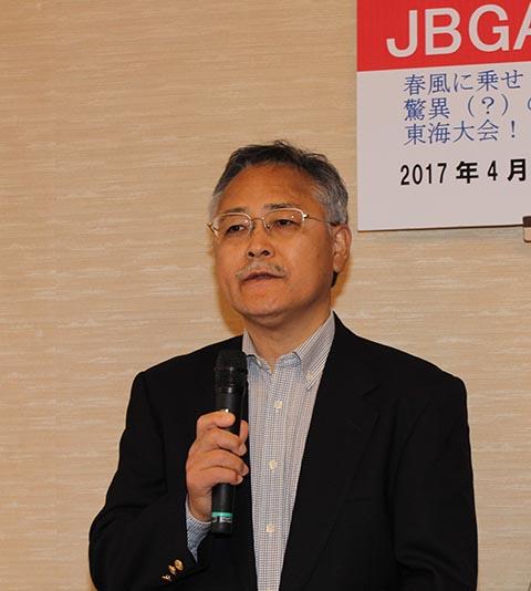 昨年度ポイントランキングレギュラー優勝の唐澤俊生さん