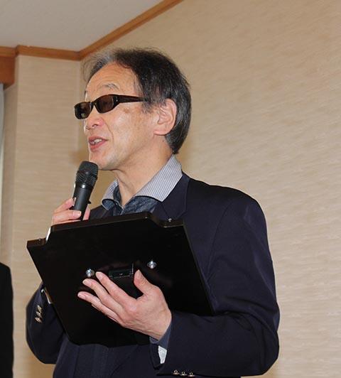 昨年度ポイントランキングチャレンジ優勝の浅野貞信さん