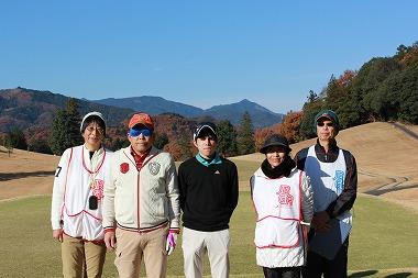 OUT5組-石山雄大さん(長谷川浩子さん)、後藤健治さん(後藤リカ子さん)、スコアラーは高城力さん
